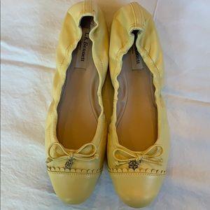 L.K. Bennett Aerin Napa Soft Leather Flat